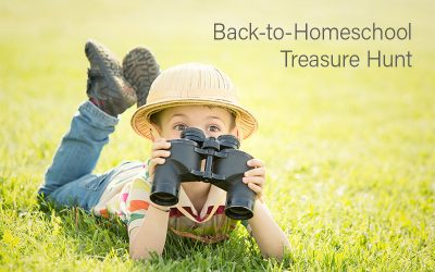 Back-to-Homeschool Treasure Hunt
