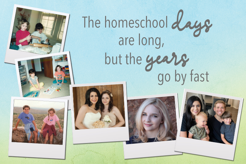 The Homeschool Days Are Long - Blog image