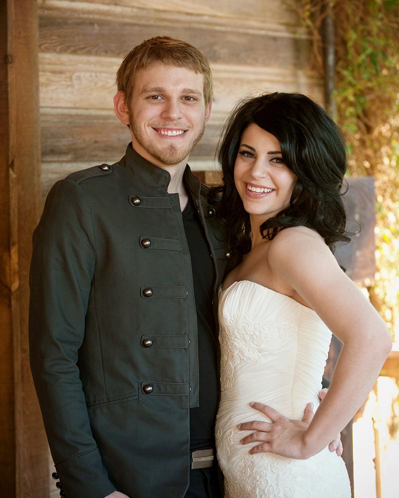 Blake and Olivia wedding 2011
