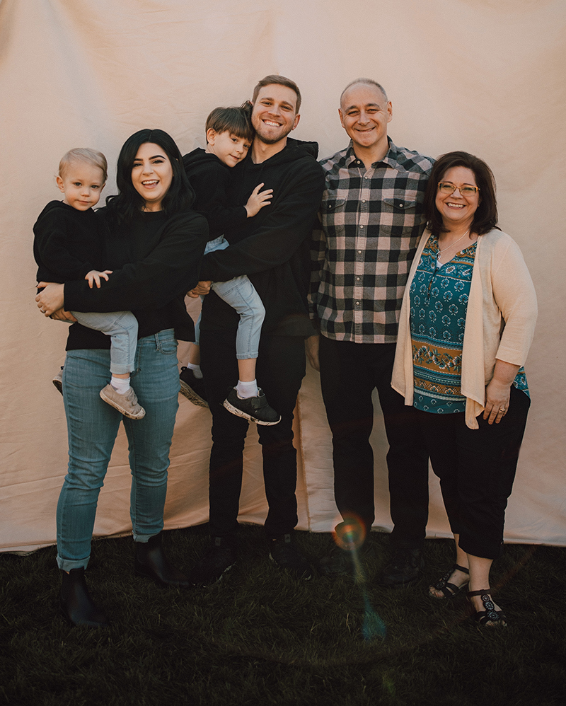 Family photo December 2020