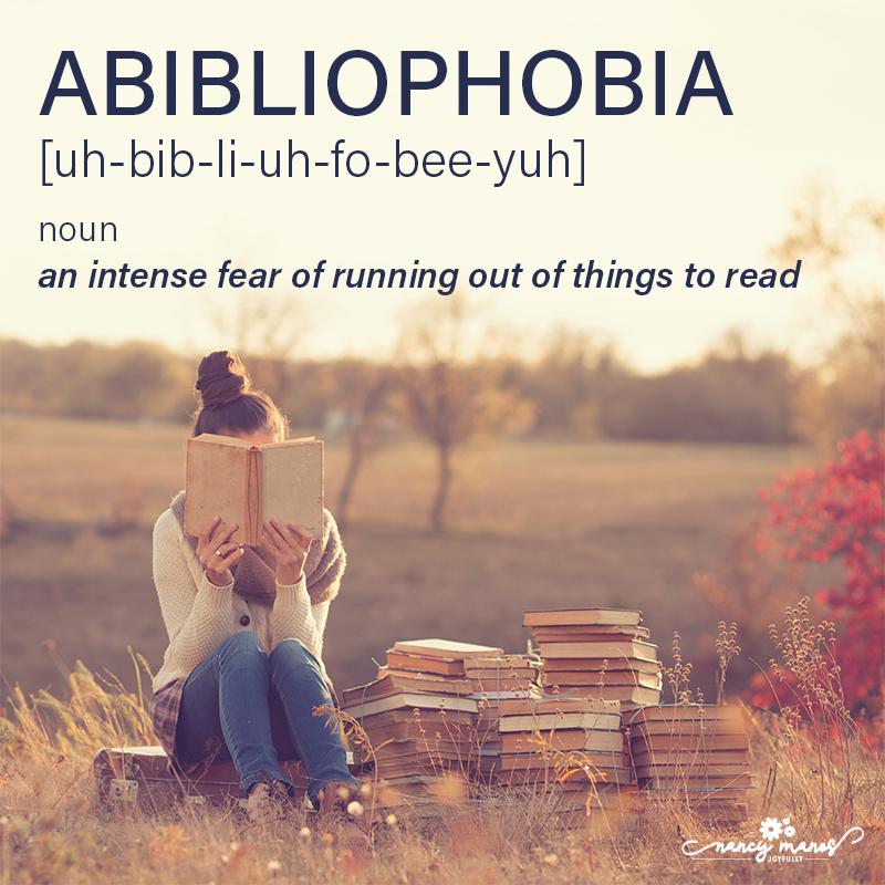Vocabulary Fun - Abibliophobia